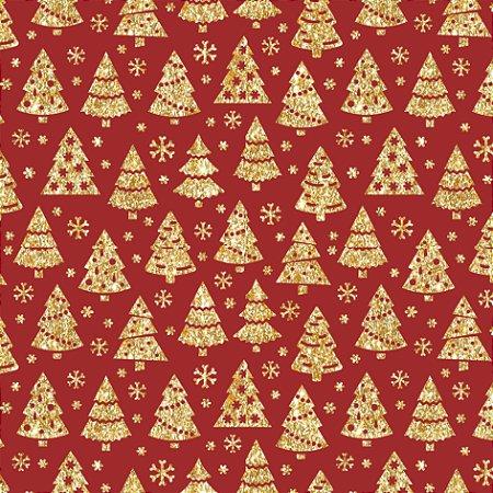 Tecido Tricoline 100% Algodão Natal Comum - 1276-58
