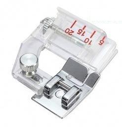 Calcador de Viés Regulável - De 0,5 a 2,0 cm