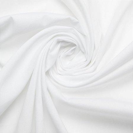 Tecido Tricoline Liso Branco - 100% Algodão - 1,00x1,50m