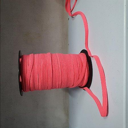 Elástico Chato 8 mm Pink a Metro
