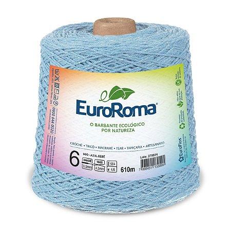 Barbante Euroroma 6 600g - Azul Bebe - 900