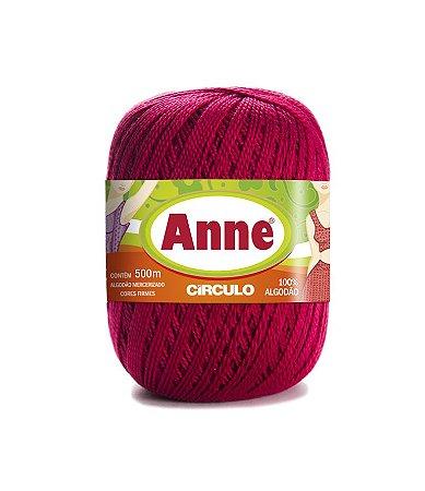 Linha Anne 500 Circulo - Cor 3611 - RUBI