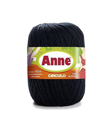 Linha Anne 500 Circulo - Cor 8990 - PRETO