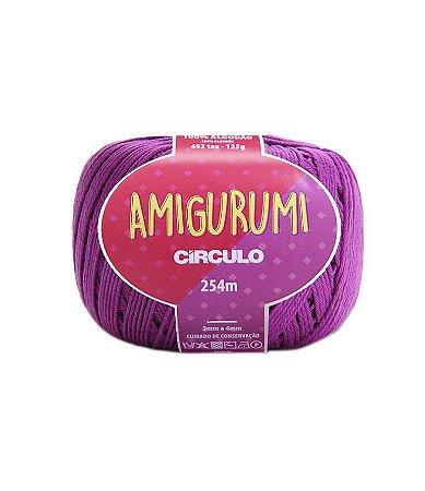 Fio Amigurumi 254m Círculo - Cor 6614 - ALFAZEMA