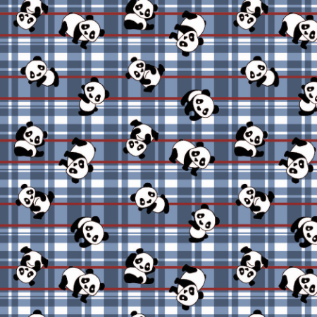 Tecido Tricoline Panda 100% Algodão - COR 70 - 1,00x1,50m