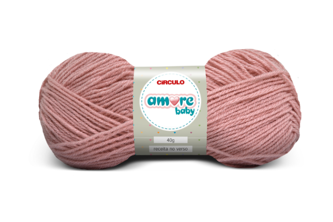 Lã Amore Baby 40g Cor - 3201 - CAMAFEU - Unidade