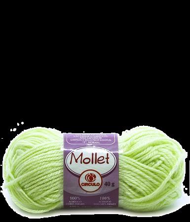 Lã Mollet 40g Cor - 620 - LIMONADA
