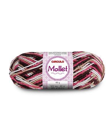 Lã Mollet 40g Cor - 9306 - NAPOLITANO