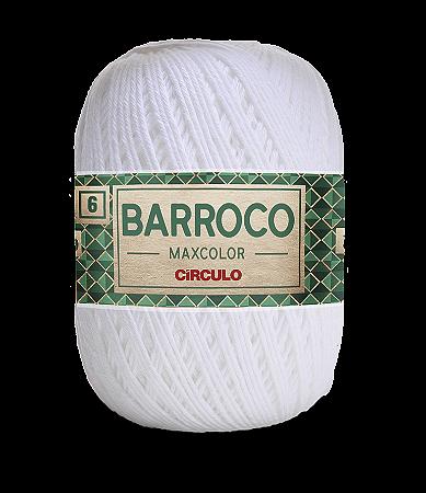 Barroco Maxcolor 6 - 200g Cor 8001 - BRANCO