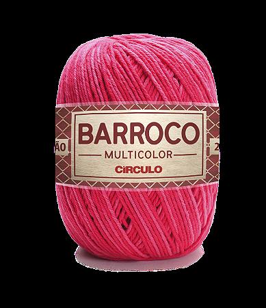 Barbante Barroco Multicolor N.6 200g Cor 9153 - CABARÉ