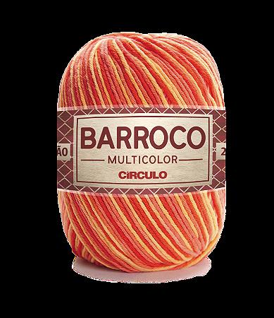 Barbante Barroco Multicolor N.6 200g Cor 9157 - PITANGA