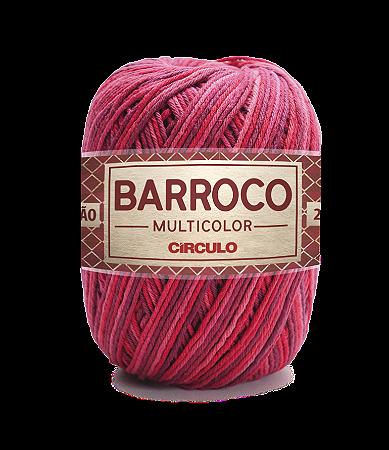 Barbante Barroco Multicolor N.6 200g Cor 9245 - GELEIA
