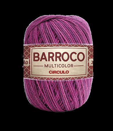 Barbante Barroco Multicolor N.6 200g Cor 9253 - MALBEC
