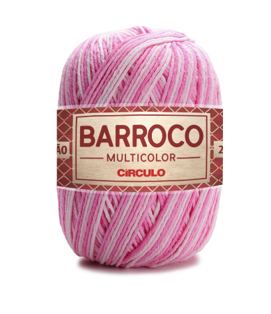 Barbante Barroco Multicolor N.6 200g Cor 9284 - BAILARINA