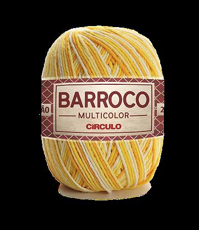Barbante Barroco Multicolor N.6 200g Cor 9368 - RAIO DE SOL