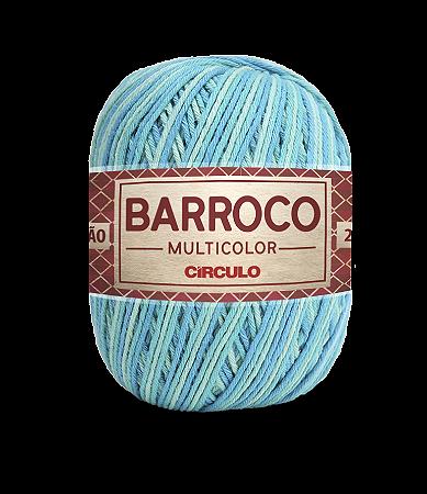 Barbante Barroco Multicolor N.6 200g Cor 9397 - TIFFANY
