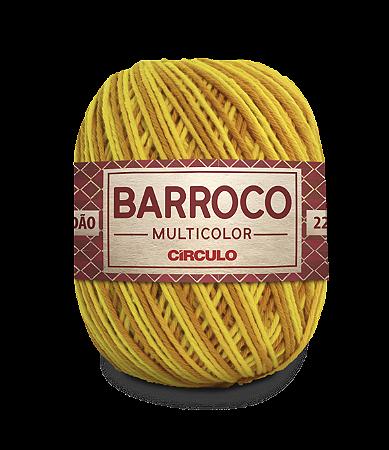 Barbante Barroco Multicolor N.6 200g Cor 9433 - ABACAXI