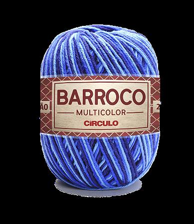 Barbante Barroco Multicolor N.6 200g Cor 9482 - PACÍFICO