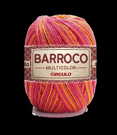 Barbante Barroco Multicolor N.6 200g Cor 9484 - VERÃO