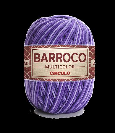 Barbante Barroco Multicolor N.6 200g Cor 9563 - VINHEDO