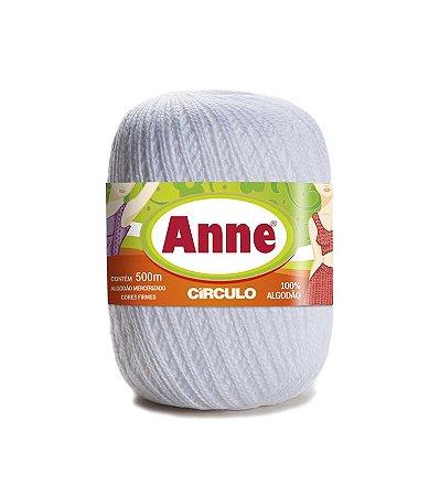 Linha Anne 500 Circulo - Cor 8001 - BRANCO