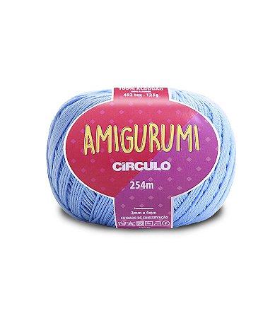 Fio Amigurumi 254m Círculo - Cor 2137 - HORTÊNCIA