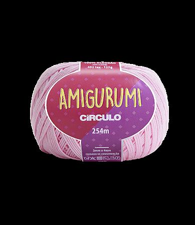 Fio Amigurumi 254m Círculo - Cor 3077 - QUARTZO