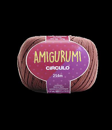 Fio Amigurumi 254m Círculo - Cor 7567 - CACAU
