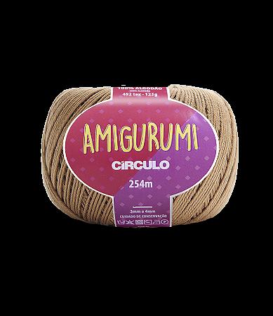 Fio Amigurumi 254m Círculo - Cor 7625 - CASTANHA