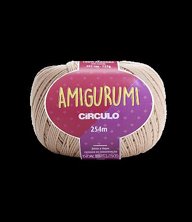 Fio Amigurumi 254m Círculo - Cor 7650 - AMÊNDOA