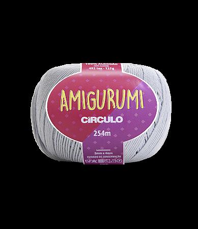 Fio Amigurumi 254m Círculo - Cor 8013 - GLACIAL