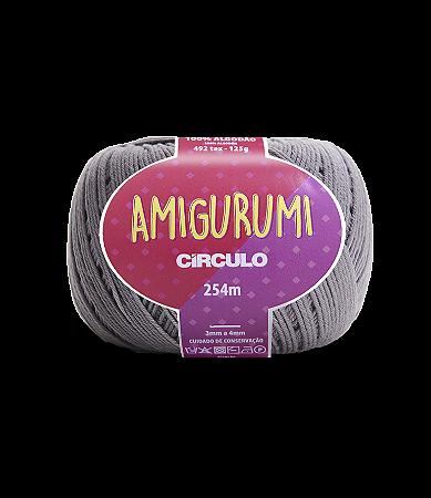 Fio Amigurumi 254m Círculo - Cor 8797 - AÇO