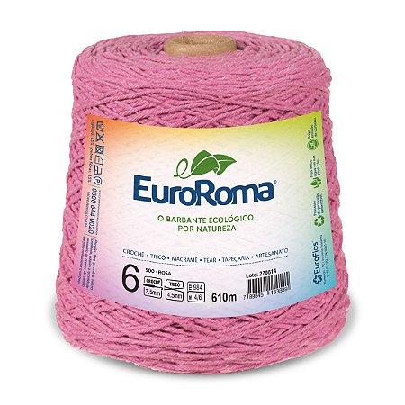 Barbante Euroroma 6 600g - Rosa - 500