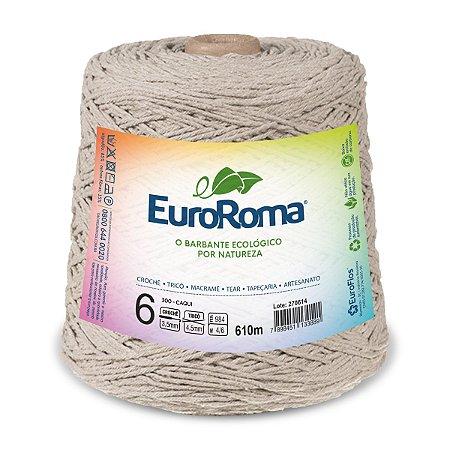 Barbante Euroroma 6 600g - Cáqui - 300