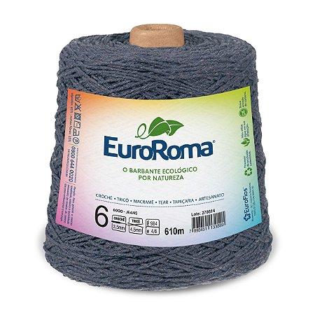 Barbante Euroroma 6 600g - Jeans - 6000
