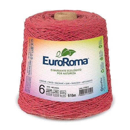 Barbante Euroroma 6 600g - Melancia - 1070