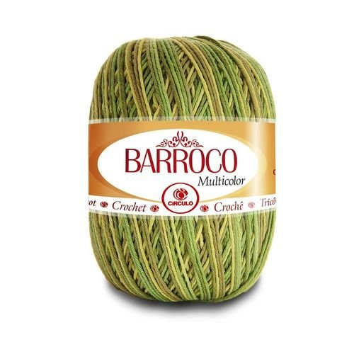 Barbante Barroco Multicolor N.6 200g Cor 9392 - Folha