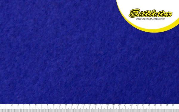 Feltro Craft Estilotex Azul Royal Cor 367 - 100x140cm