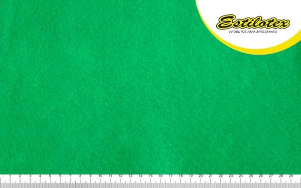 Feltro Craft Estilotex Verde Floresta Cor 394 - 100x140cm