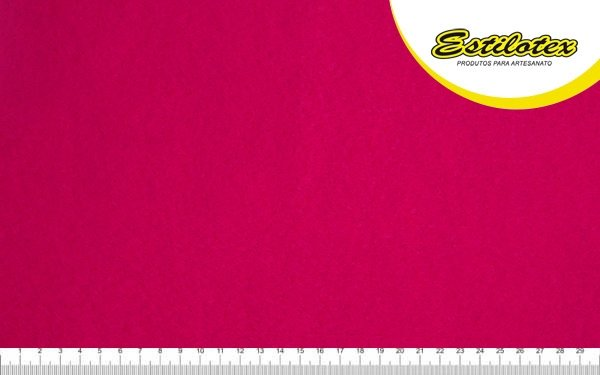 Feltro Craft Estilotex Pink Cor 401 - 100x140cm
