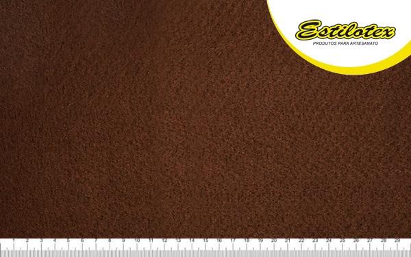 Feltro Craft Estilotex Marrom Café Cor 403 - 100x140cm