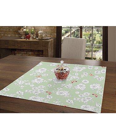 Toalha de Mesa Genebra Quadrada 78 x 78 cm - ISABEL