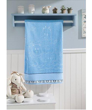 Toalha de Banho Para Bordar Dohler Baby Kids - 70 x 115 cm - FJ-6240 A/6089