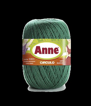 Linha Anne 500 Circulo - Cor 5363 - ESMERALDA