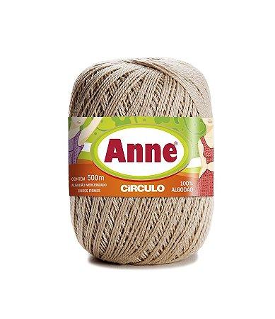 Linha Anne 500 Circulo - COR 7684 - PORCELANA