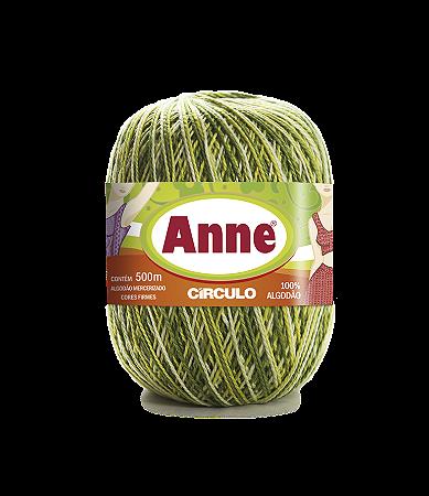 Linha Anne 500 Circulo - COR 9462# - OLIVA