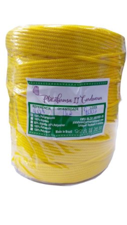 Fio Náutico Polipropileno - 1 Kg - Amarelo