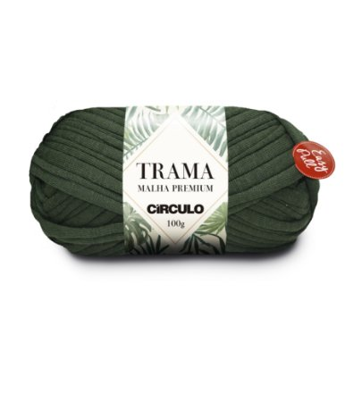 Fio Trama Malha Premium Círculo Cor - 5398 - MUSGO