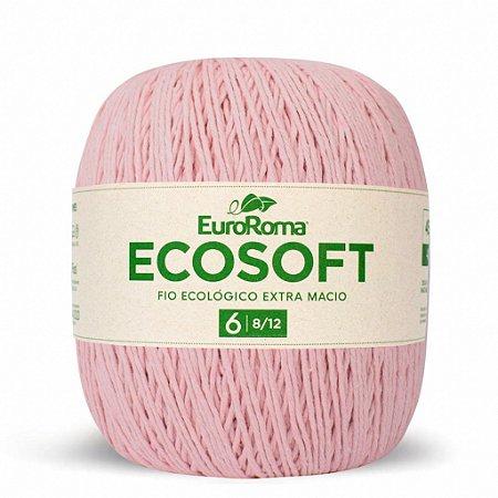 Barbante Ecosoft Euroroma - 8/12   452m Cor 510 - Rosa Bebê