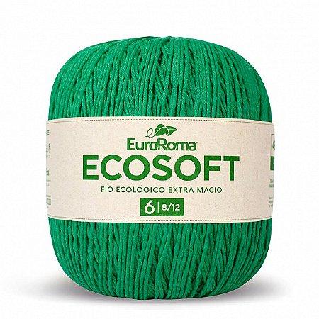 Barbante Ecosoft Euroroma - 8/12 | 452m Cor 803 - Verde Bandeira